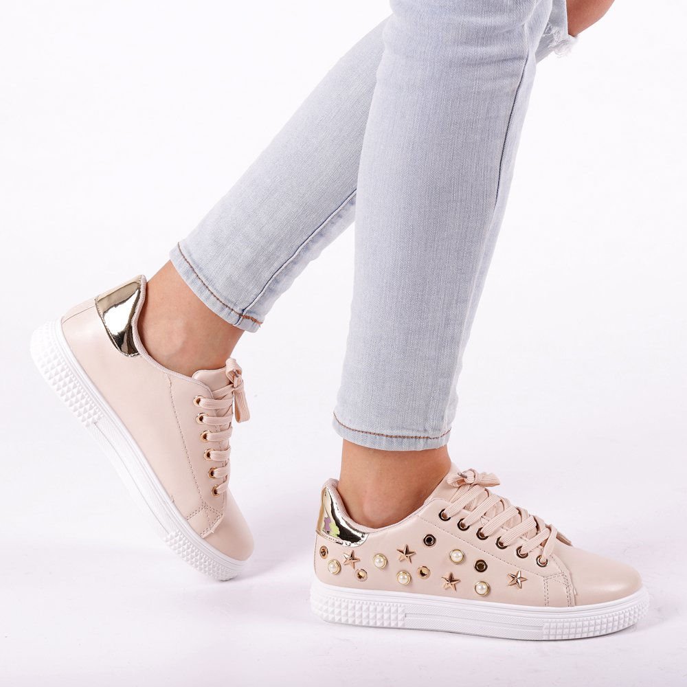 Pantofi Sport Dama Dido Bej