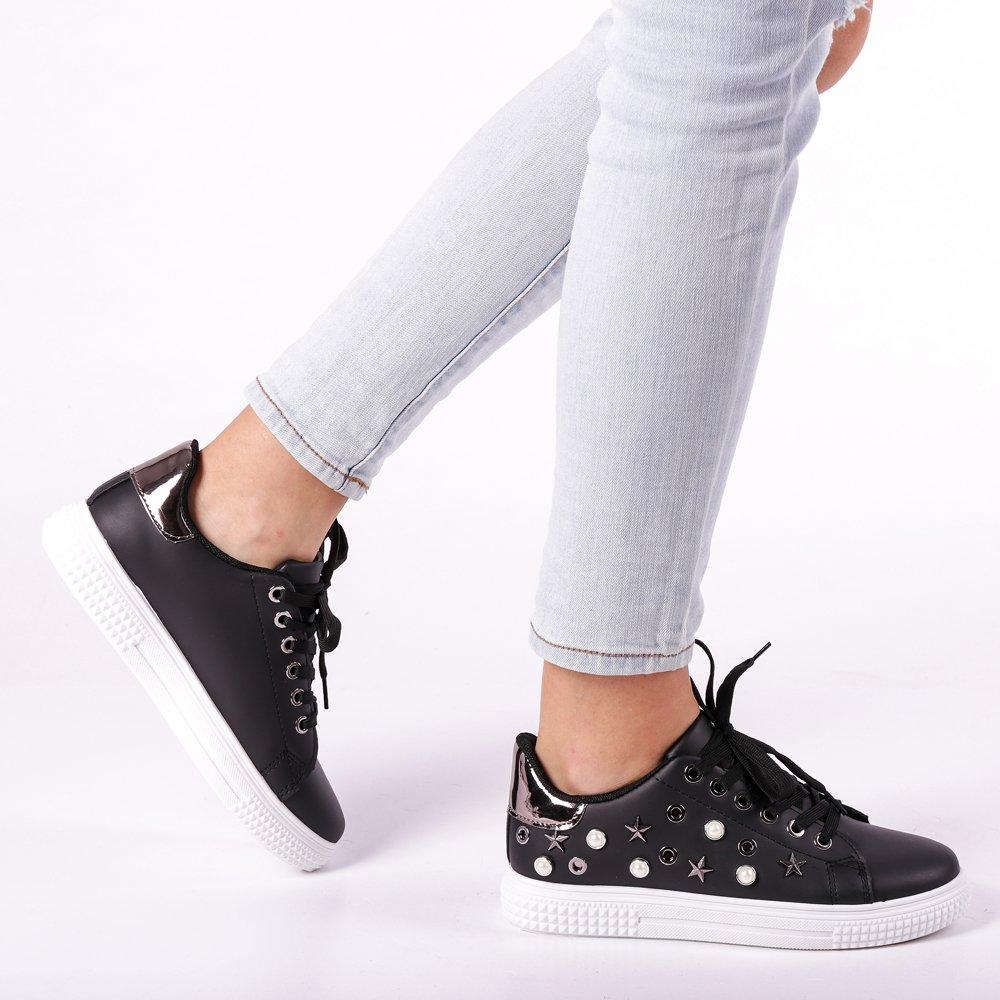 Pantofi sport dama Dido negri