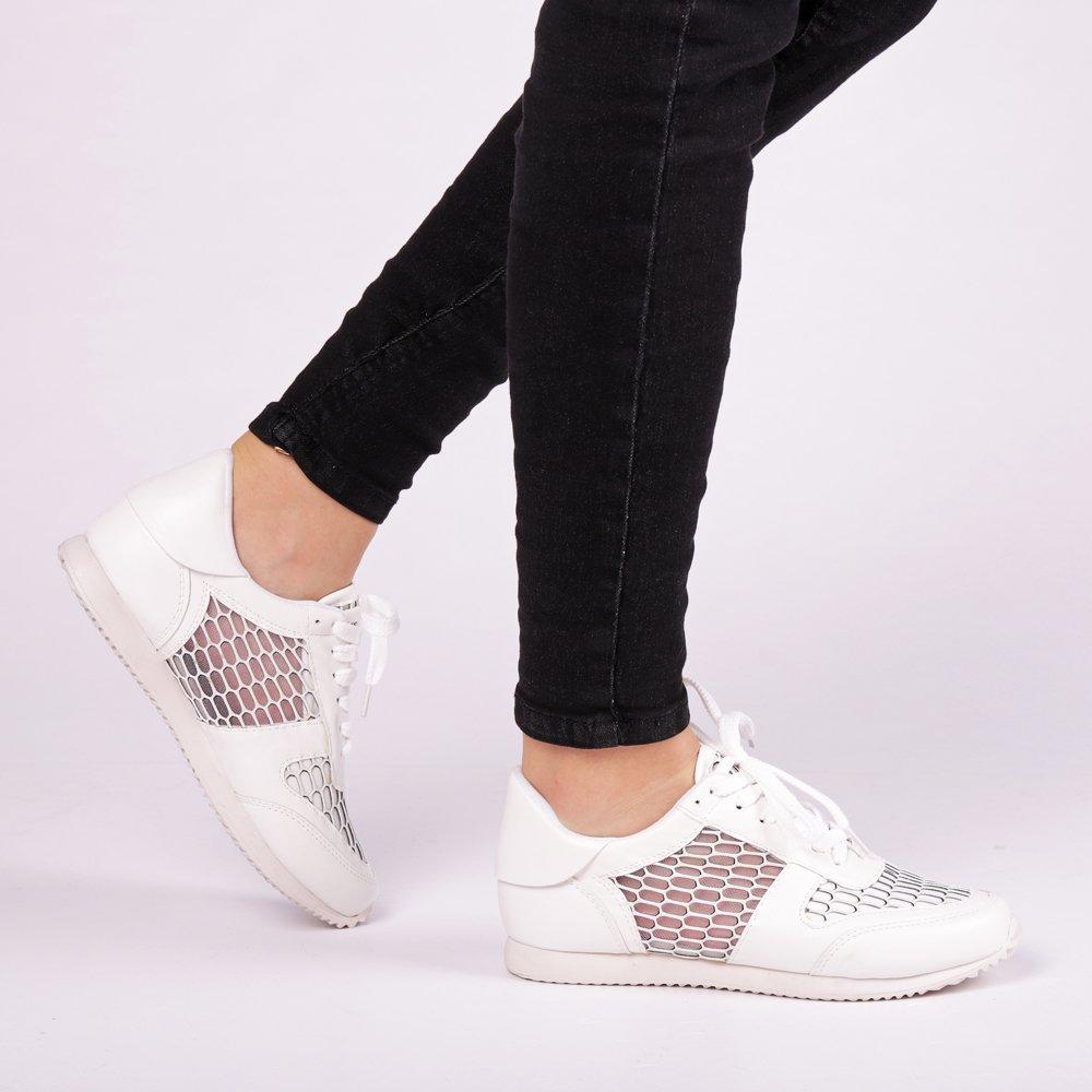 Pantofi sport dama Andra albi