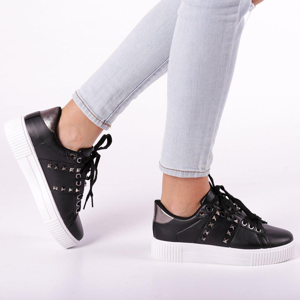 Pantofi sport dama Fleur negri