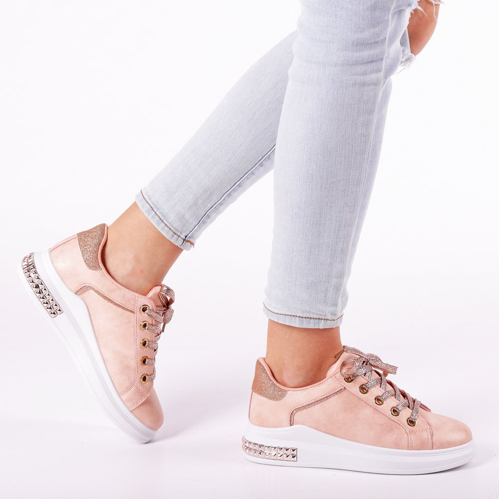 Pantofi sport dama Fredrika roz