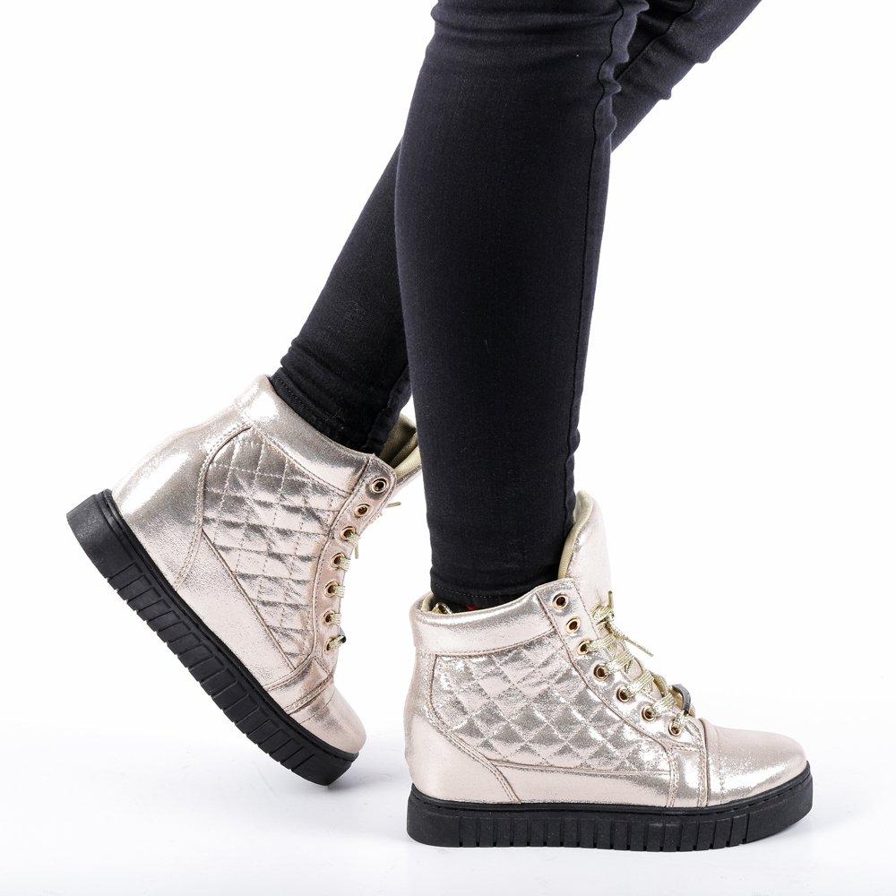 Sneakers dama Jolly aurii