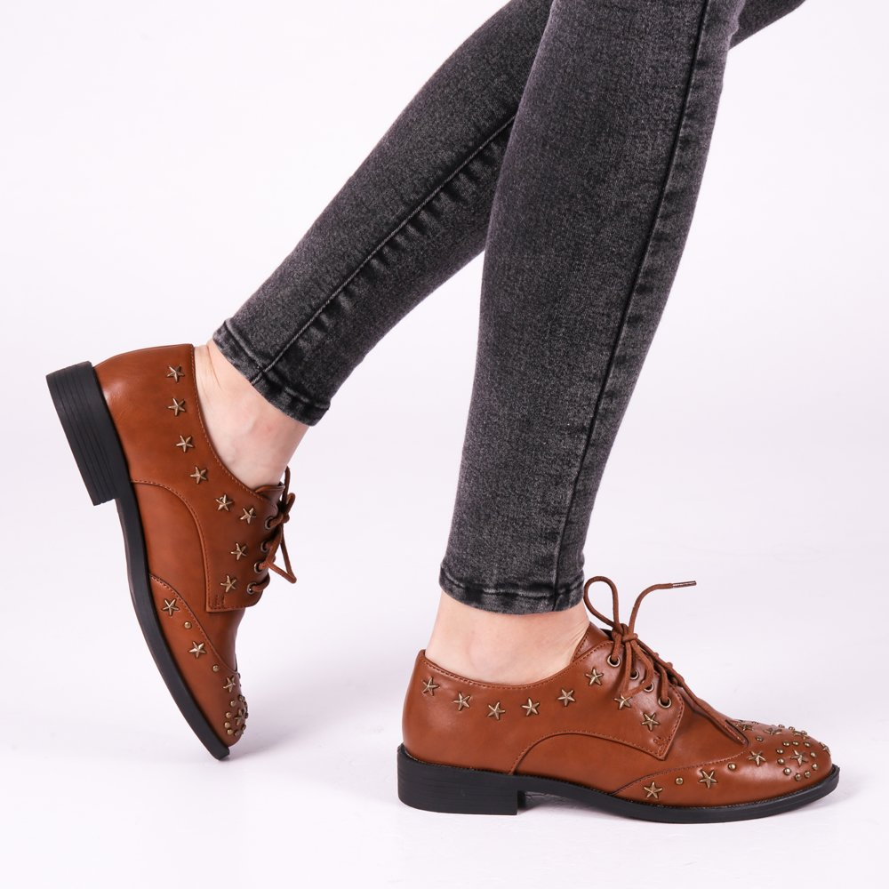 Pantofi dama Nevaeh bej