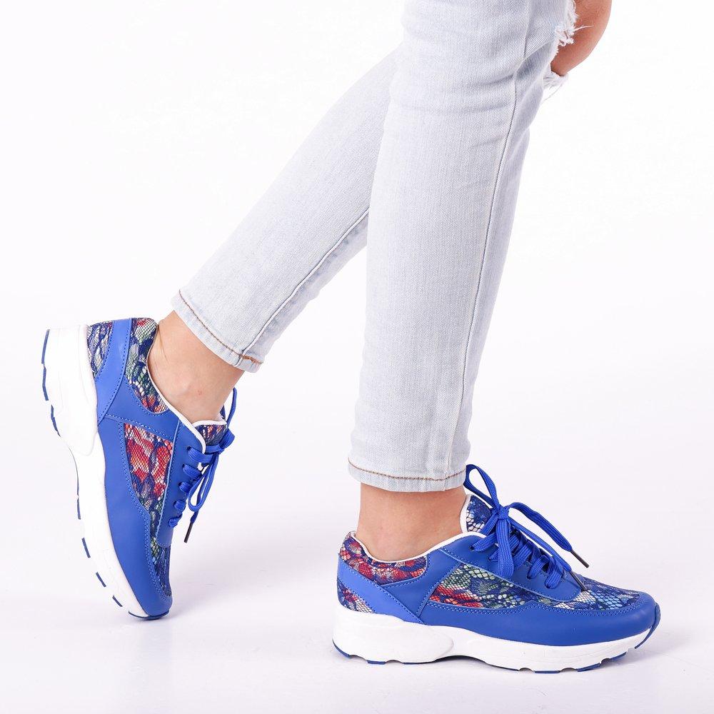 Pantofi sport dama Halley albastri