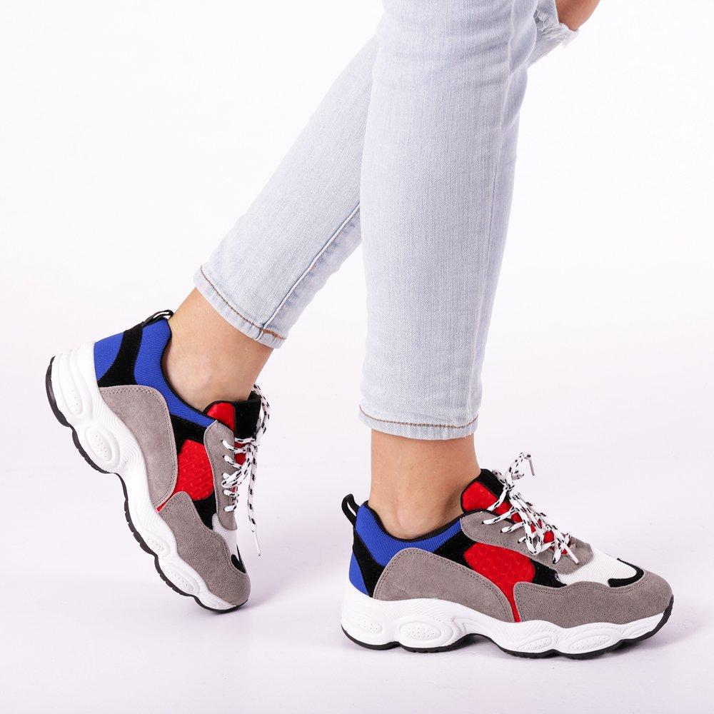 Pantofi sport dama Yasmin gri