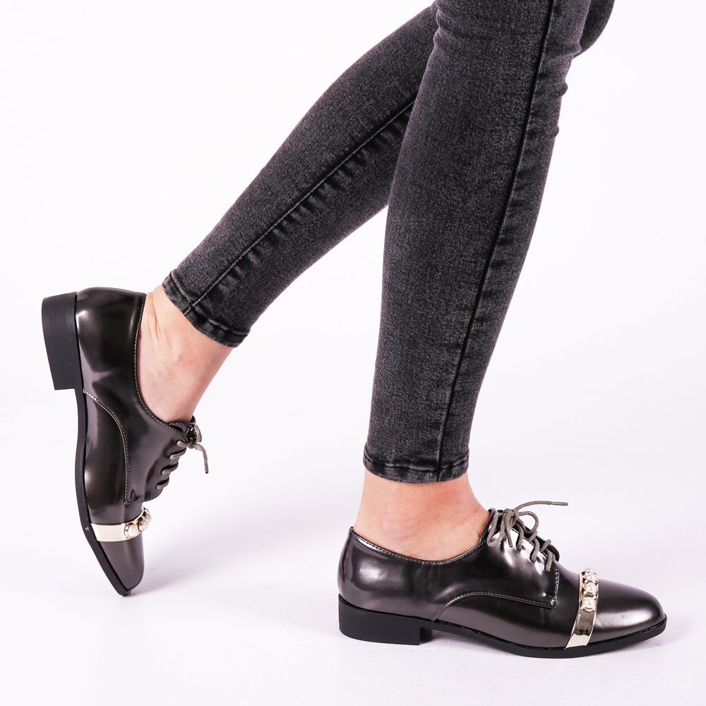 Pantofi dama Jocelyn gri