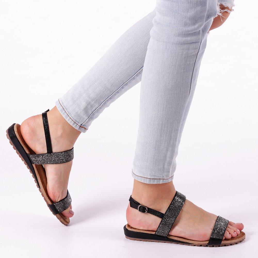 Sandale dama Sage negre