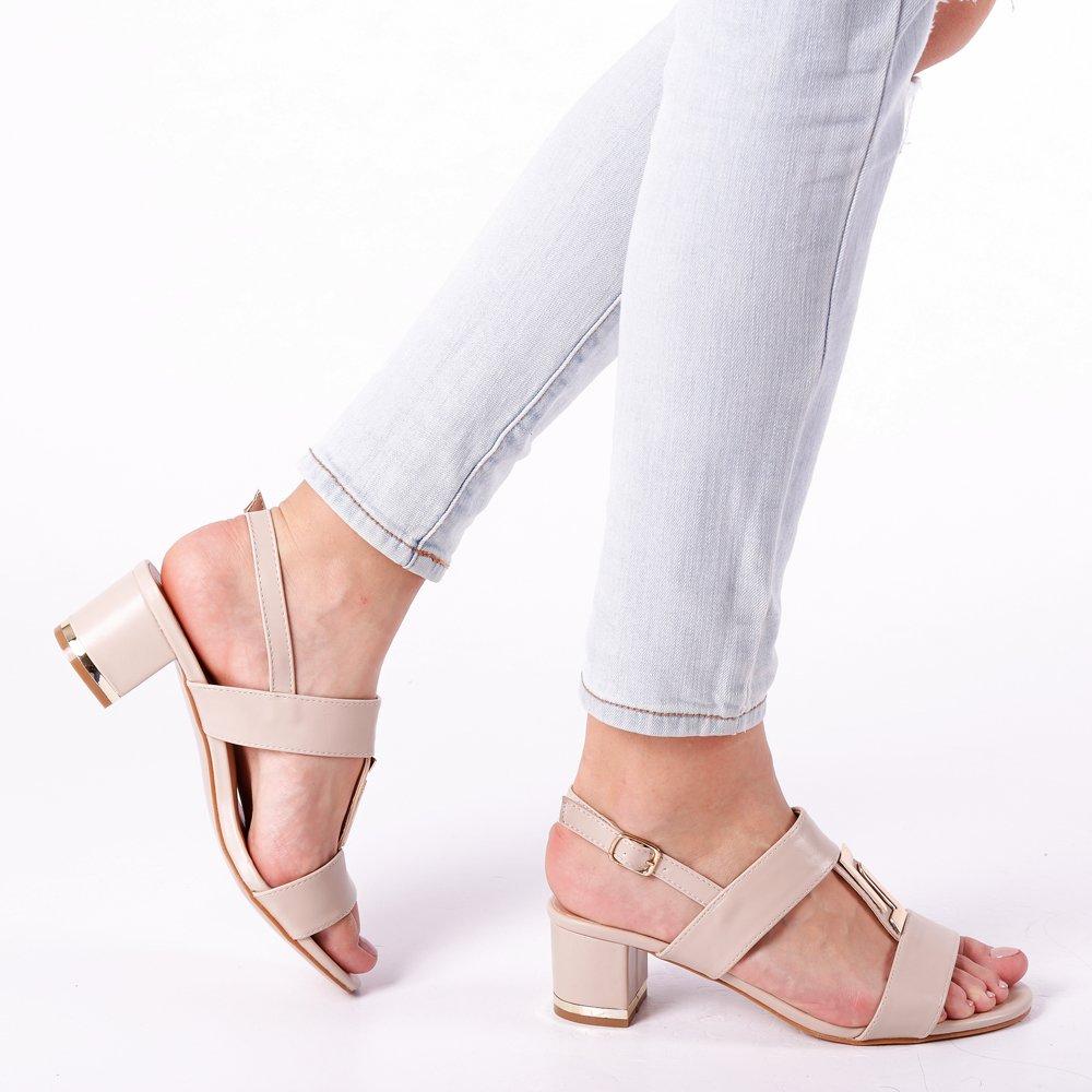 Sandale dama Malia bej
