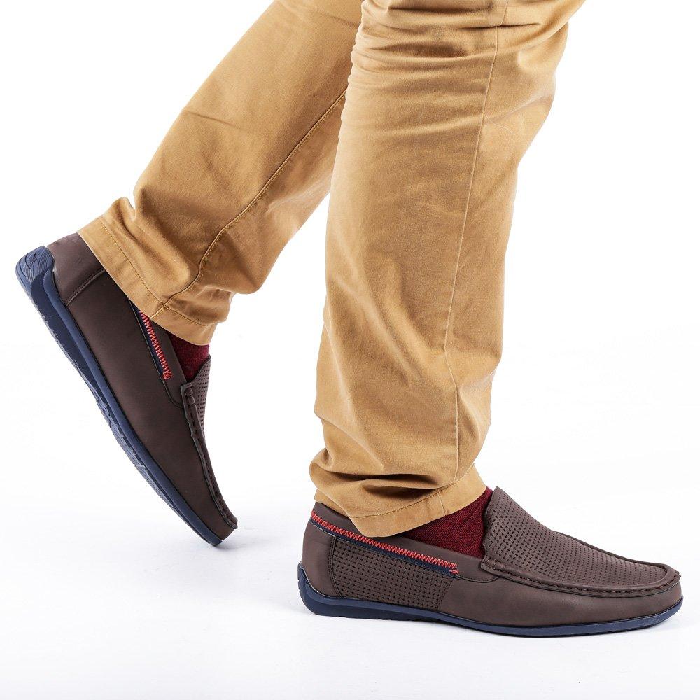 Pantofi barbati Oliver maro
