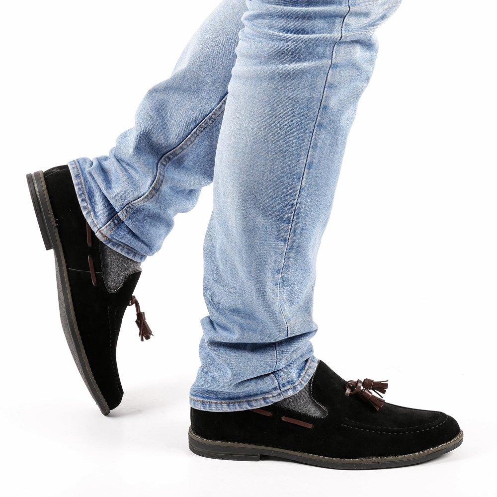Pantofi barbati Eamon negri