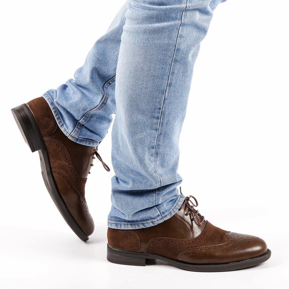 Pantofi barbati Alan maro