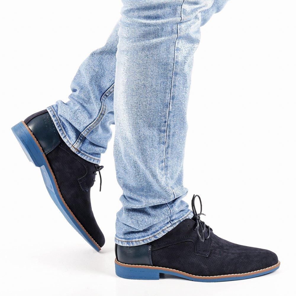 Pantofi barbati Thaddeus albastri