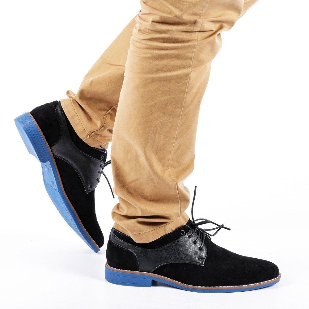 Pantofi barbati Reuben negri