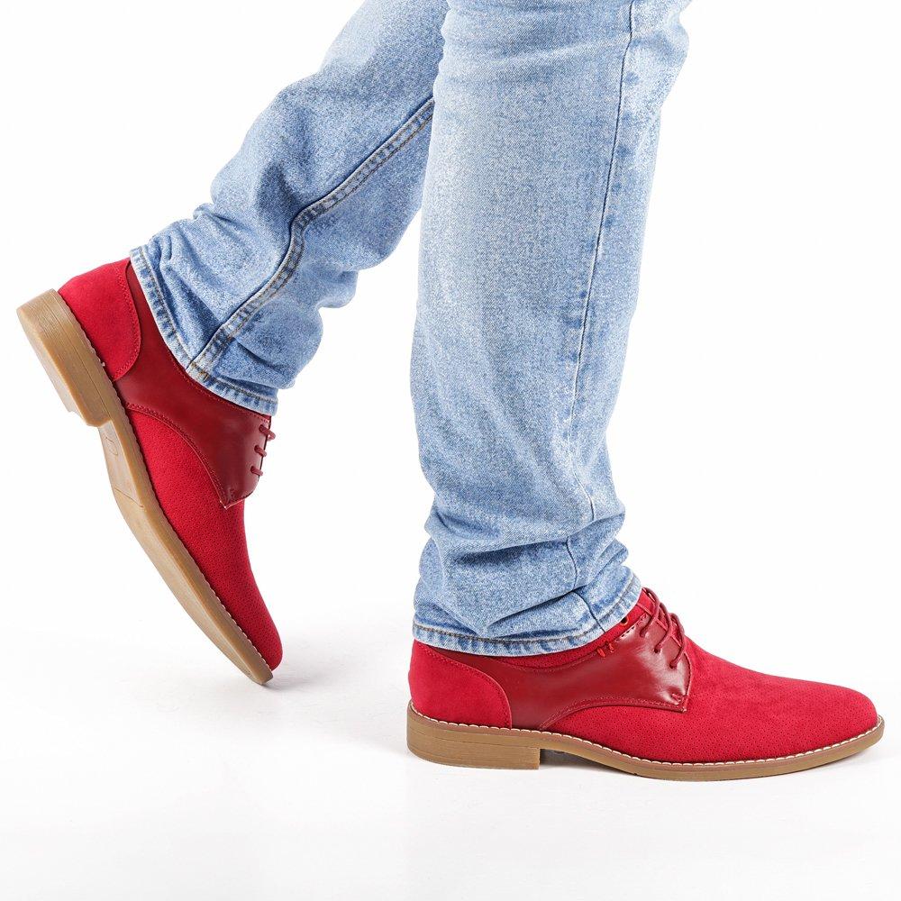 Pantofi barbati Reuben rosii
