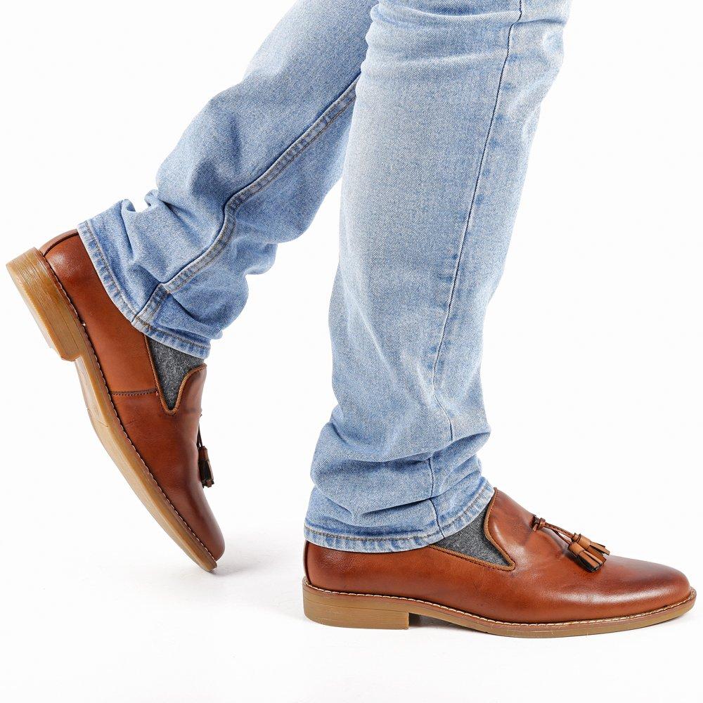 Pantofi barbati Wesley maro