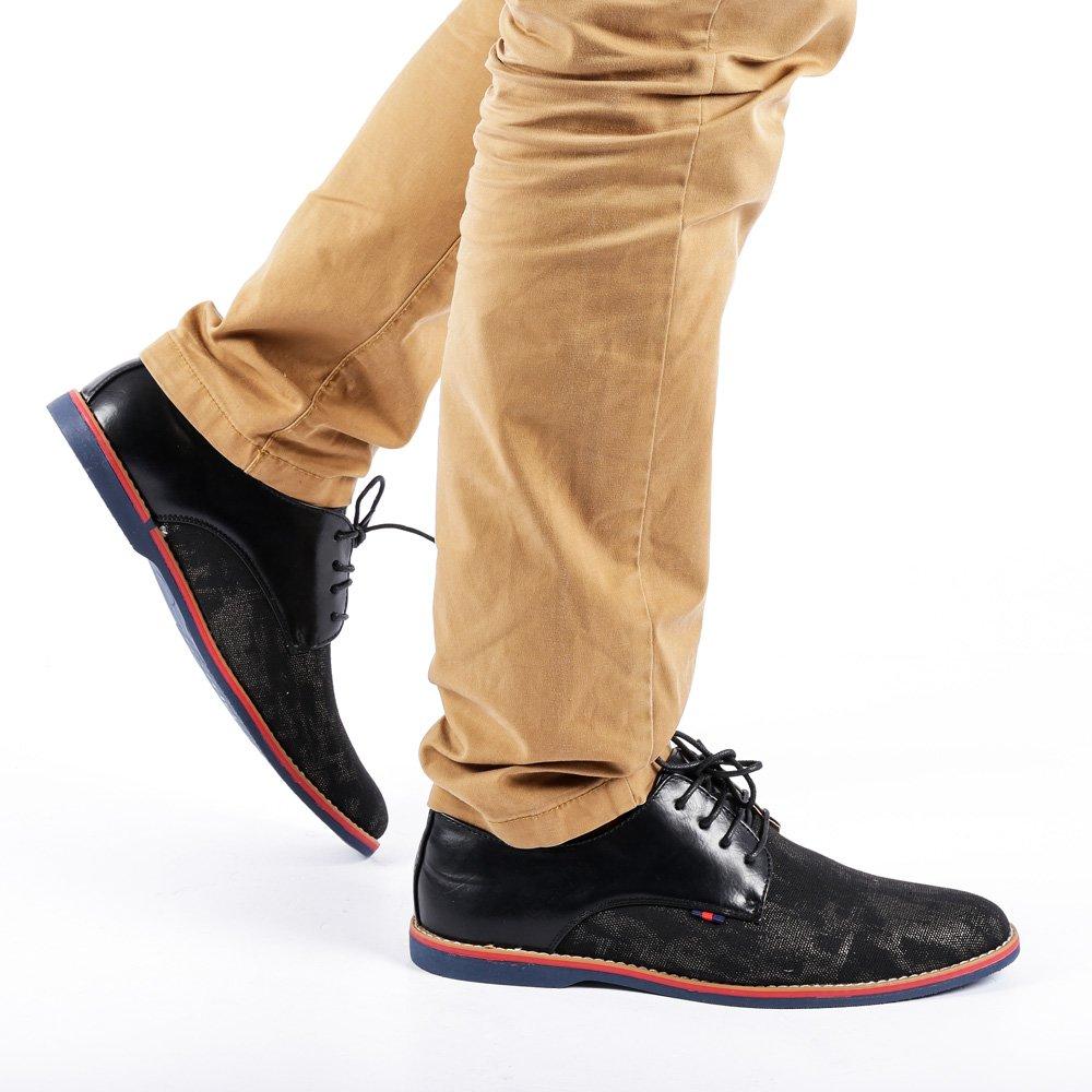 Pantofi barbati Sawyer negri