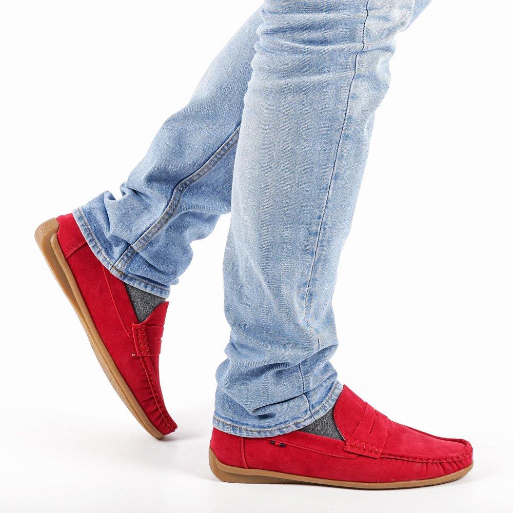 Pantofi barbati Otis rosii