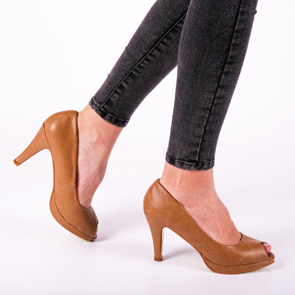 Pantofi dama Mellisa khaki