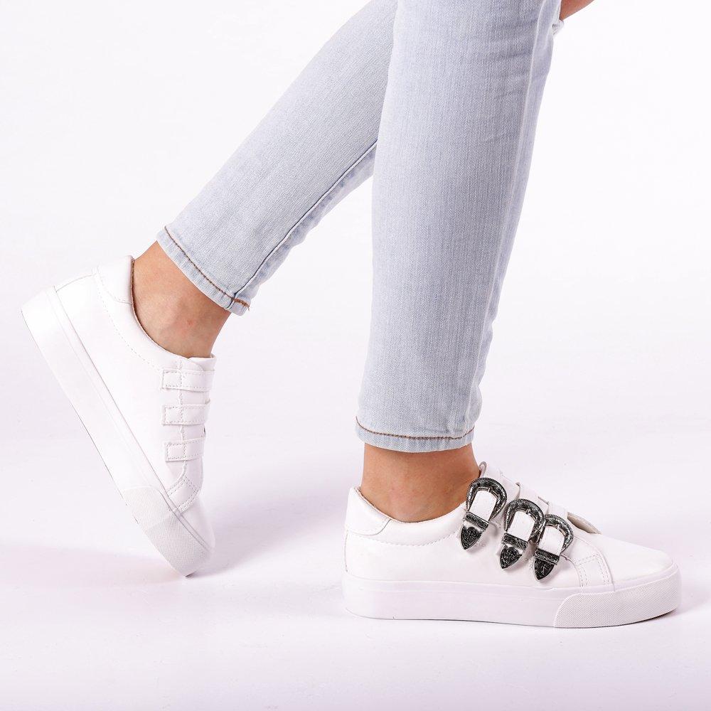Pantofi sport dama Hera albi