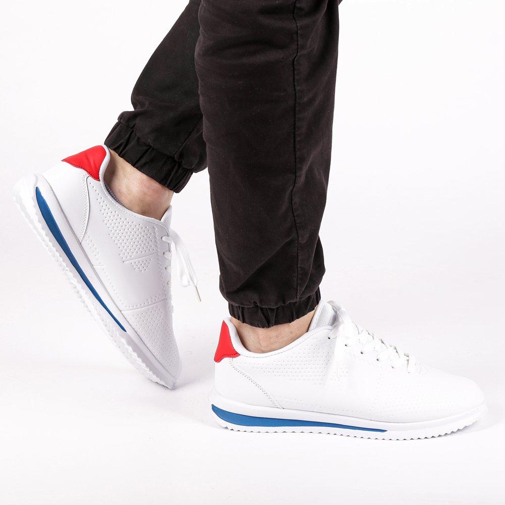 Pantofi sport barbati Merrick alb cu rosu
