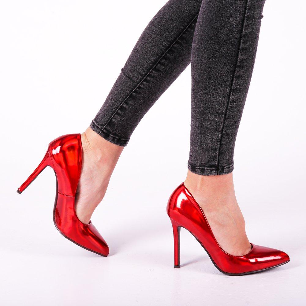 Pantofi dama Elodie rosii