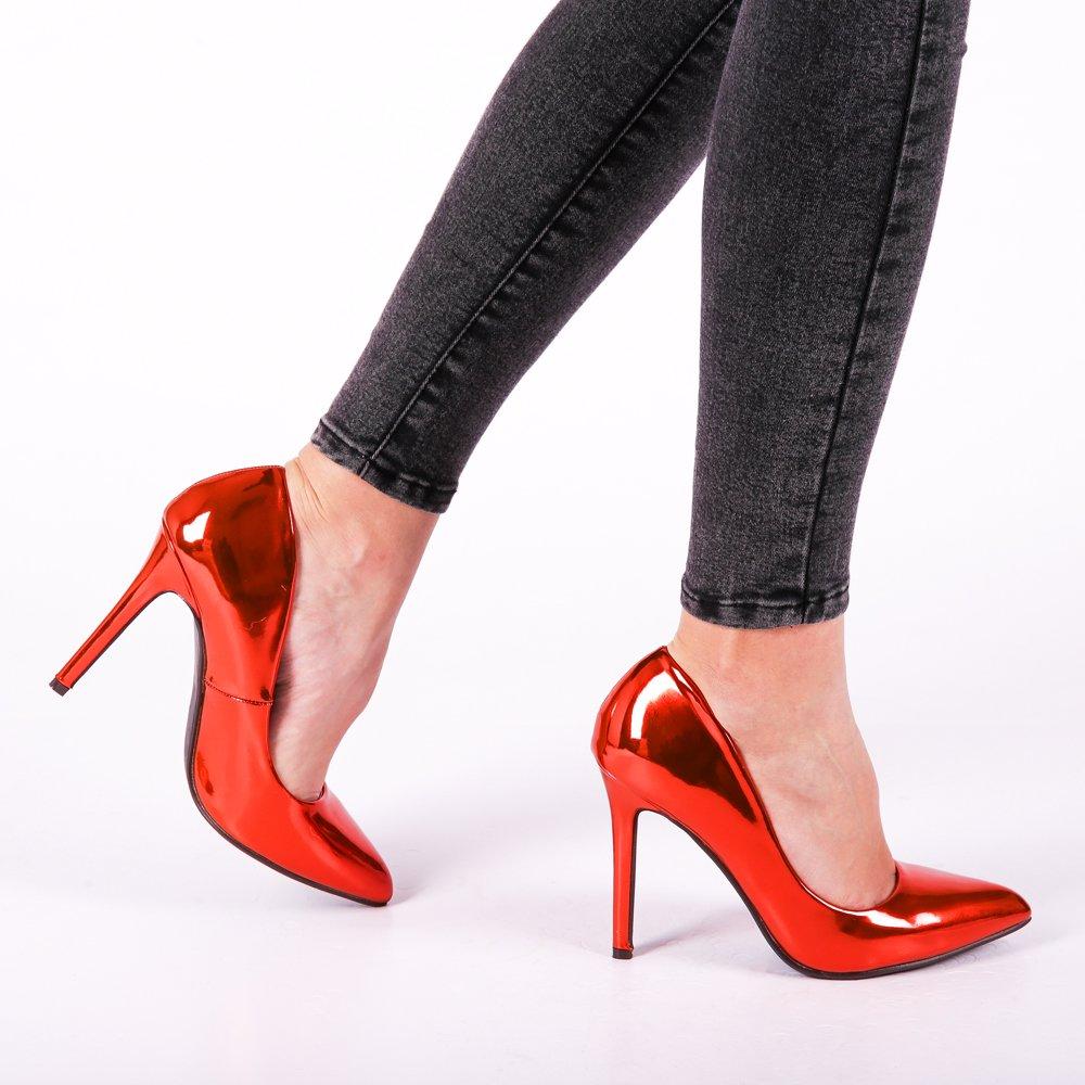 Pantofi dama Elodie portocalii