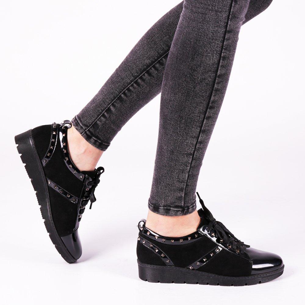 Pantofi dama Reagan negri