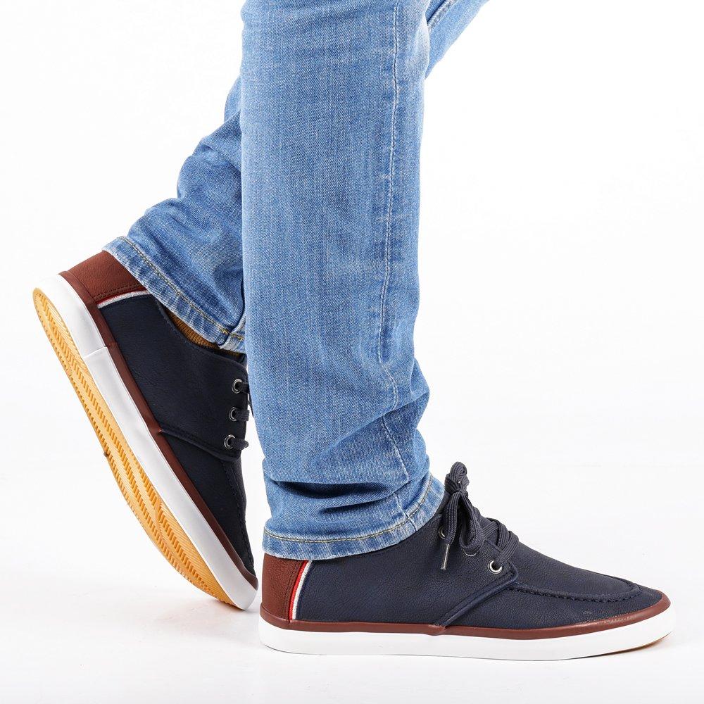 Pantofi sport barbati Tiberiu albastri