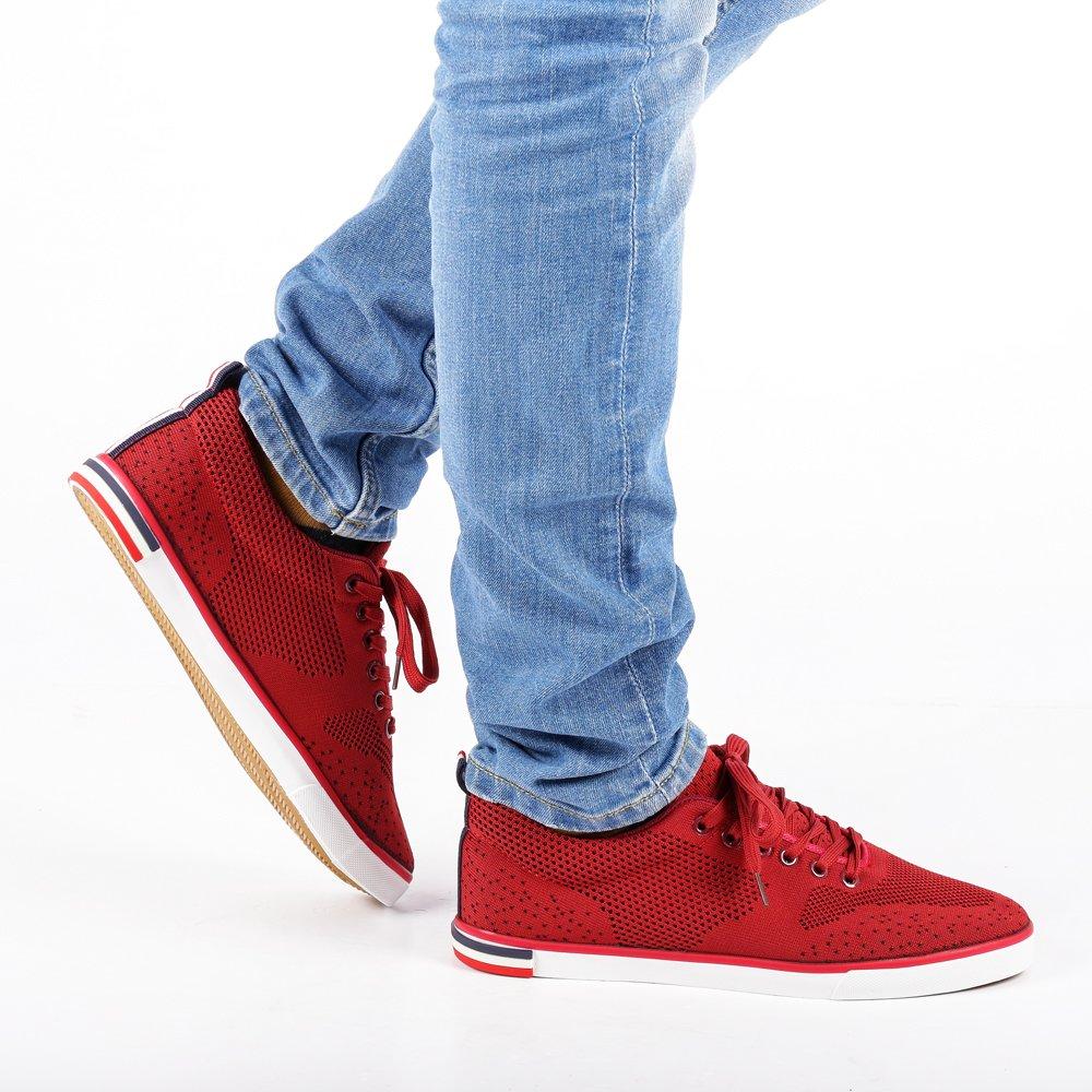 Pantofi sport barbati Enzo rosii