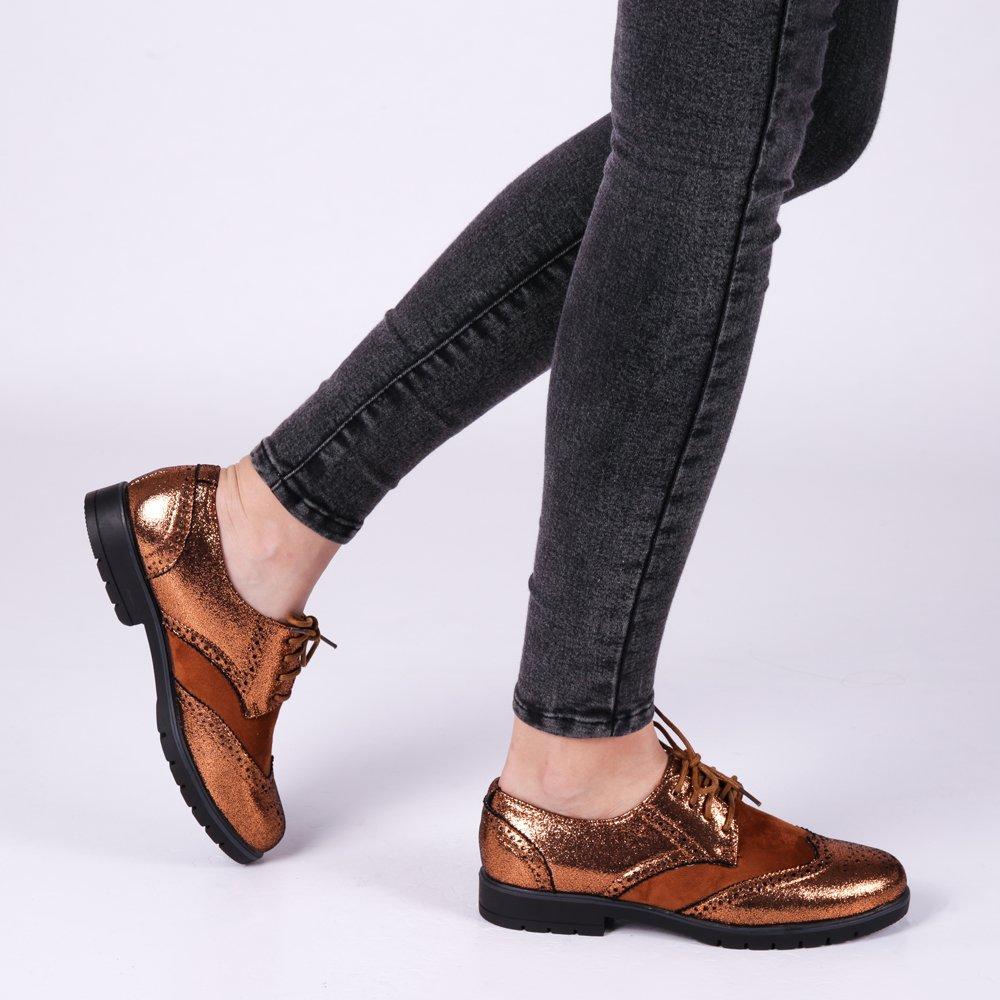 Pantofi dama Carmela camel