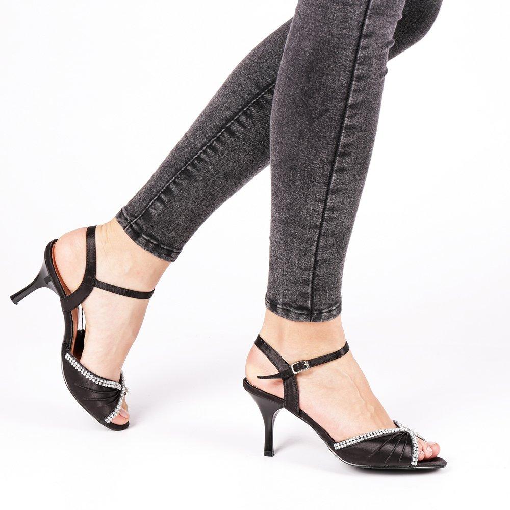 Sandale dama Linnea negre