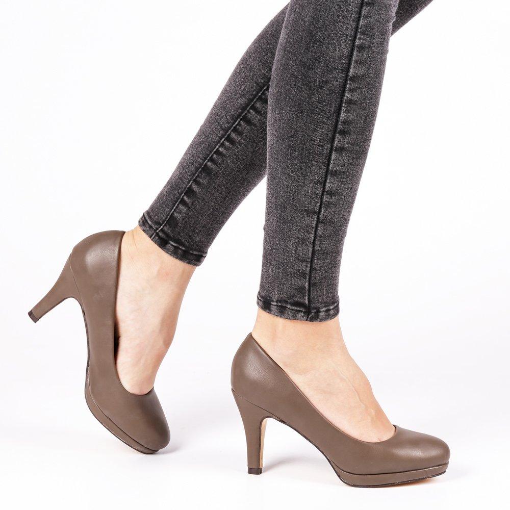 Pantofi dama Nadine gri