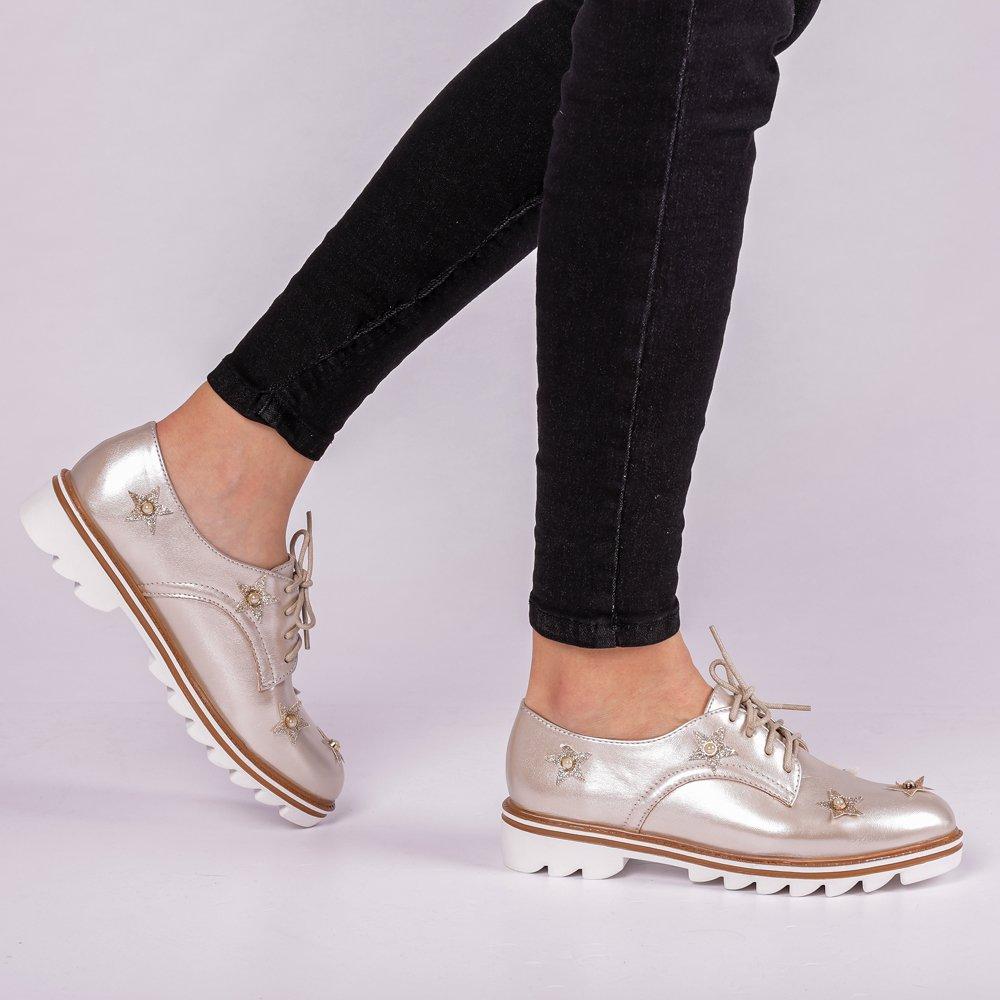 Pantofi dama Nunila bej