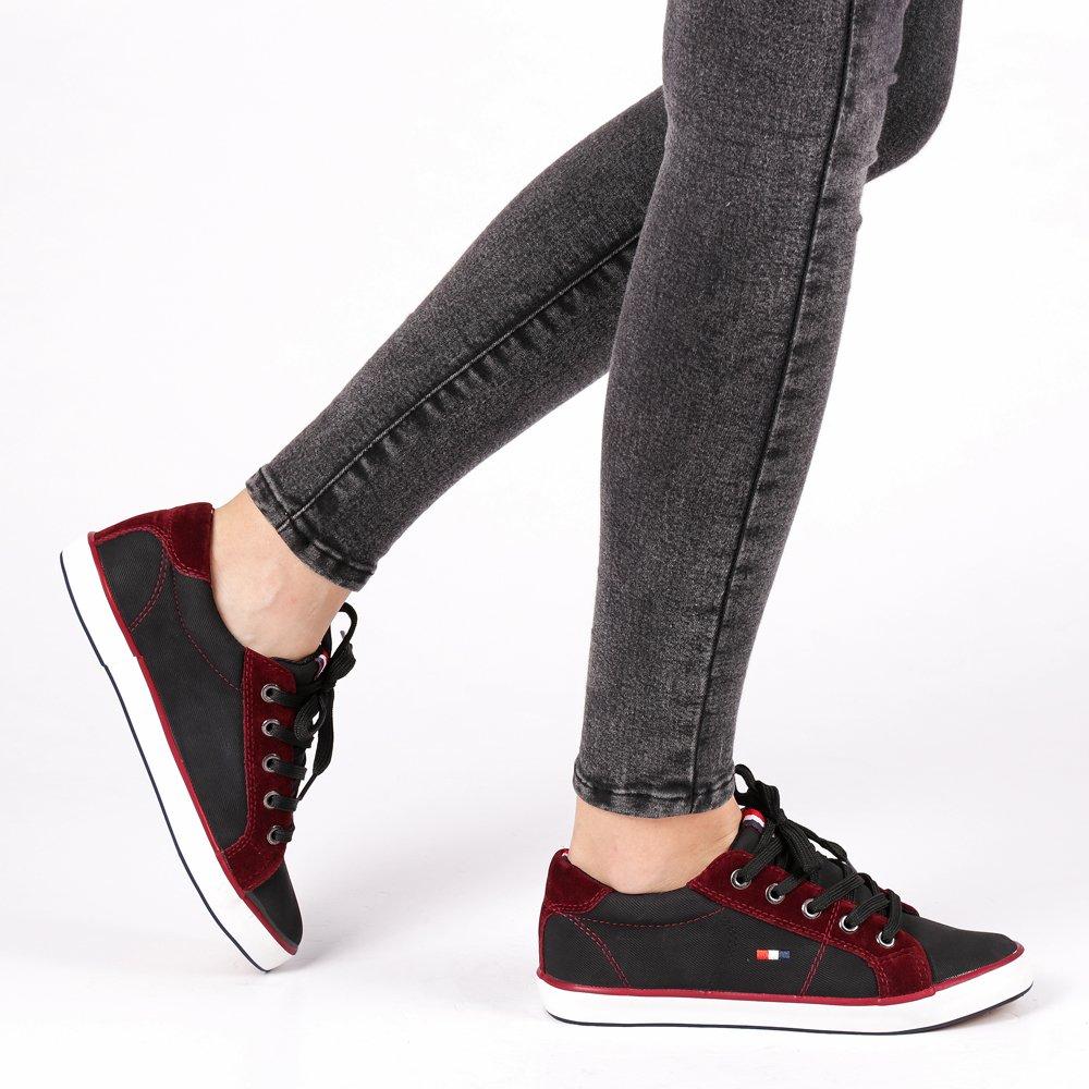 Pantofi sport dama Daphne negri