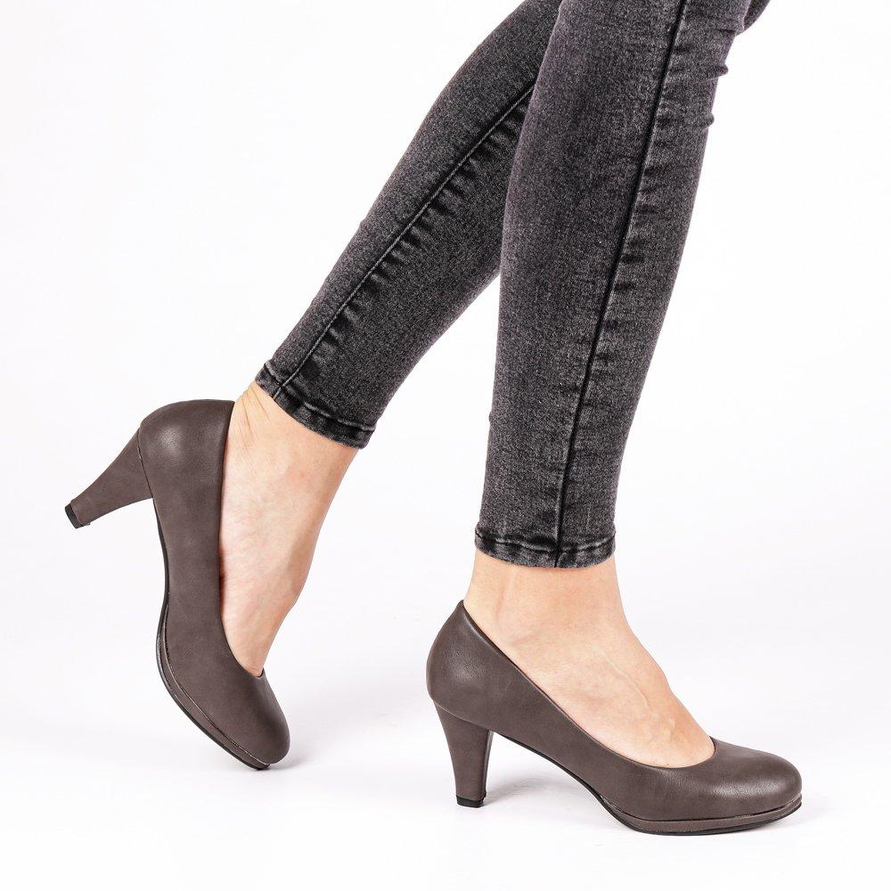 Pantofi dama Priscilla gri