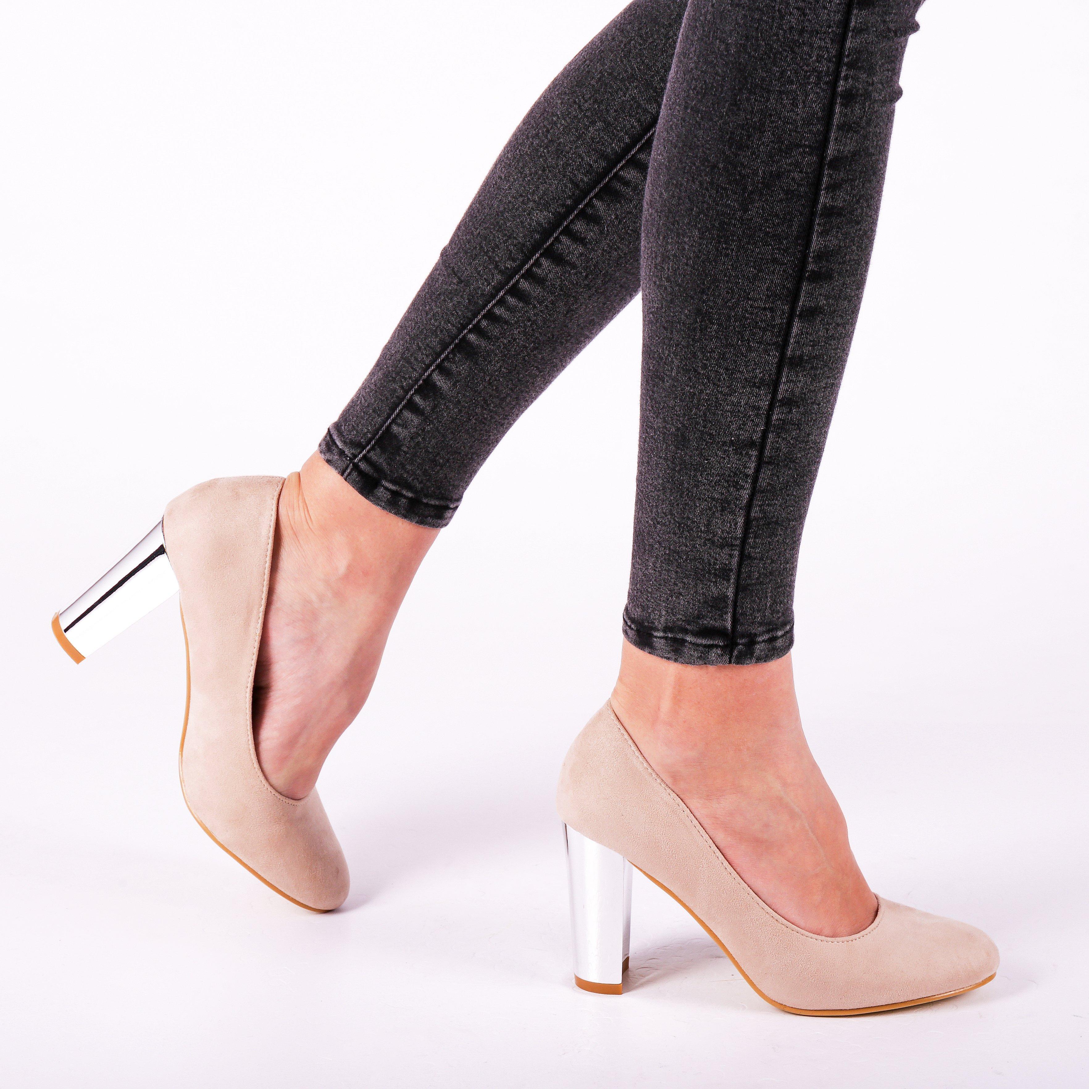 Pantofi dama Adelaida bej
