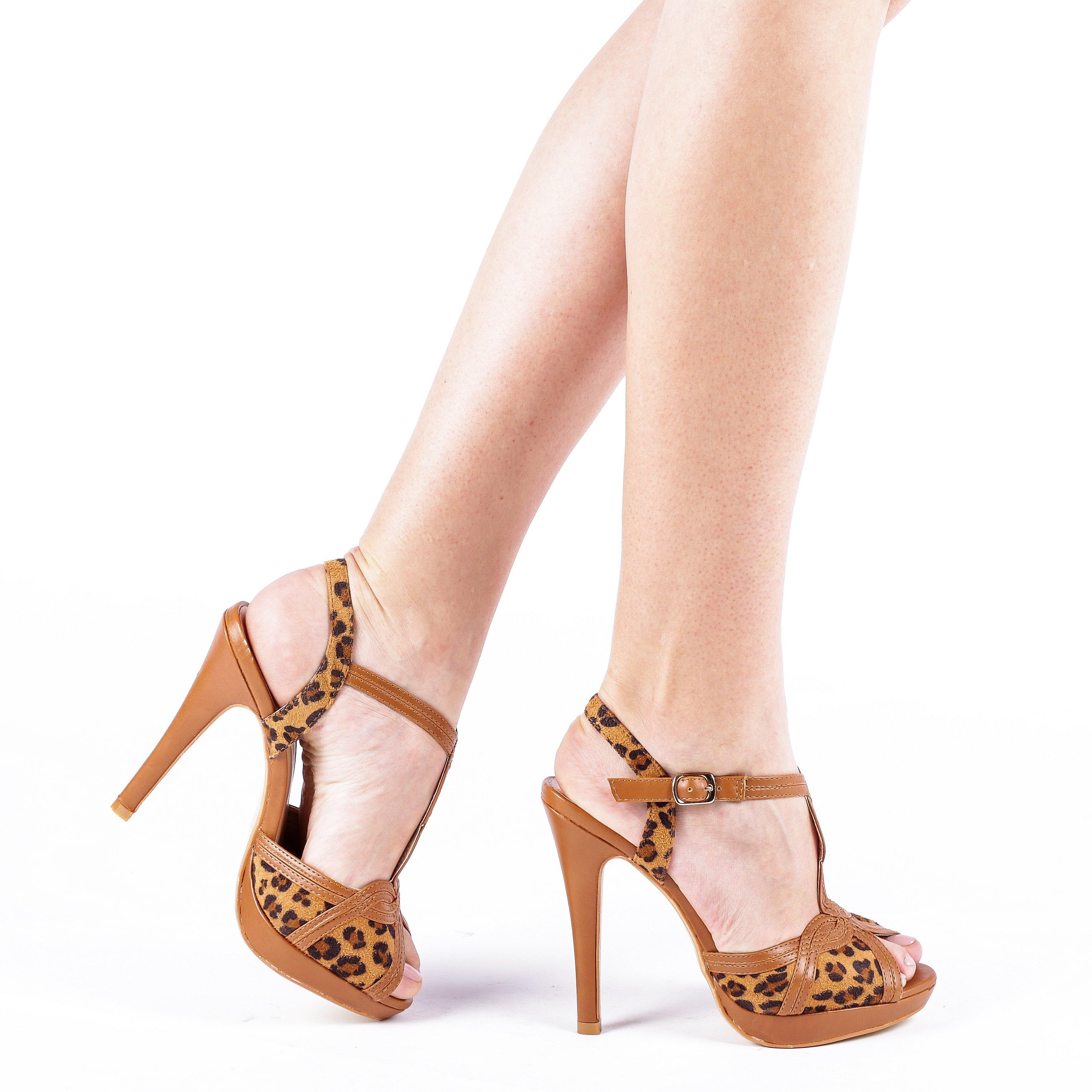 Sandale dama Chenille negre