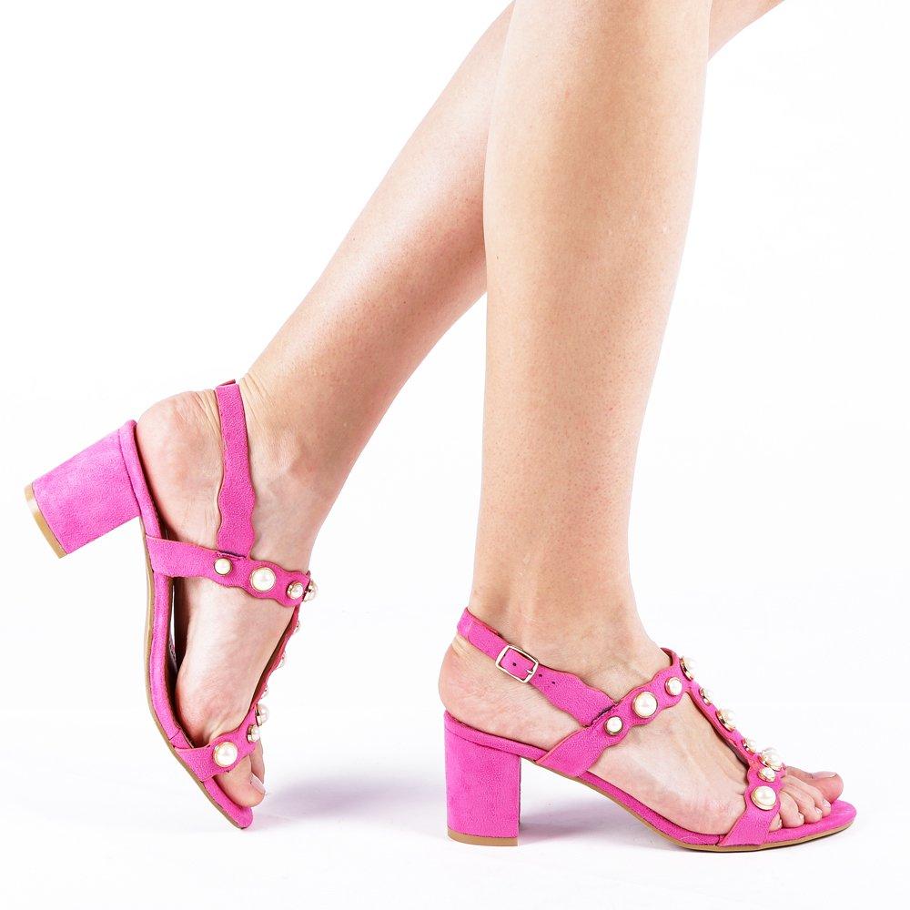Sandale Dama Emelinda Fucsia