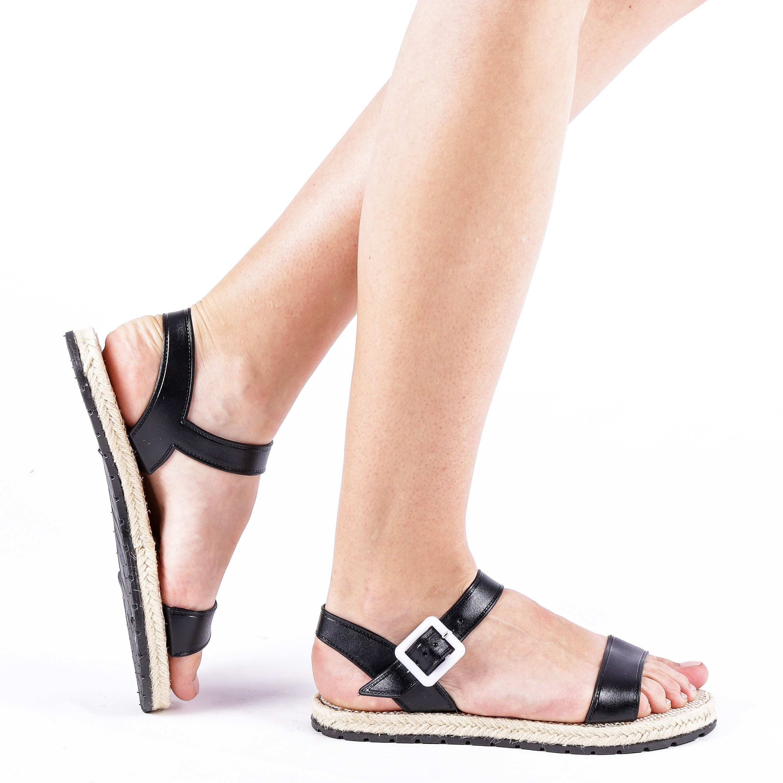 Sandale dama Hailey negre