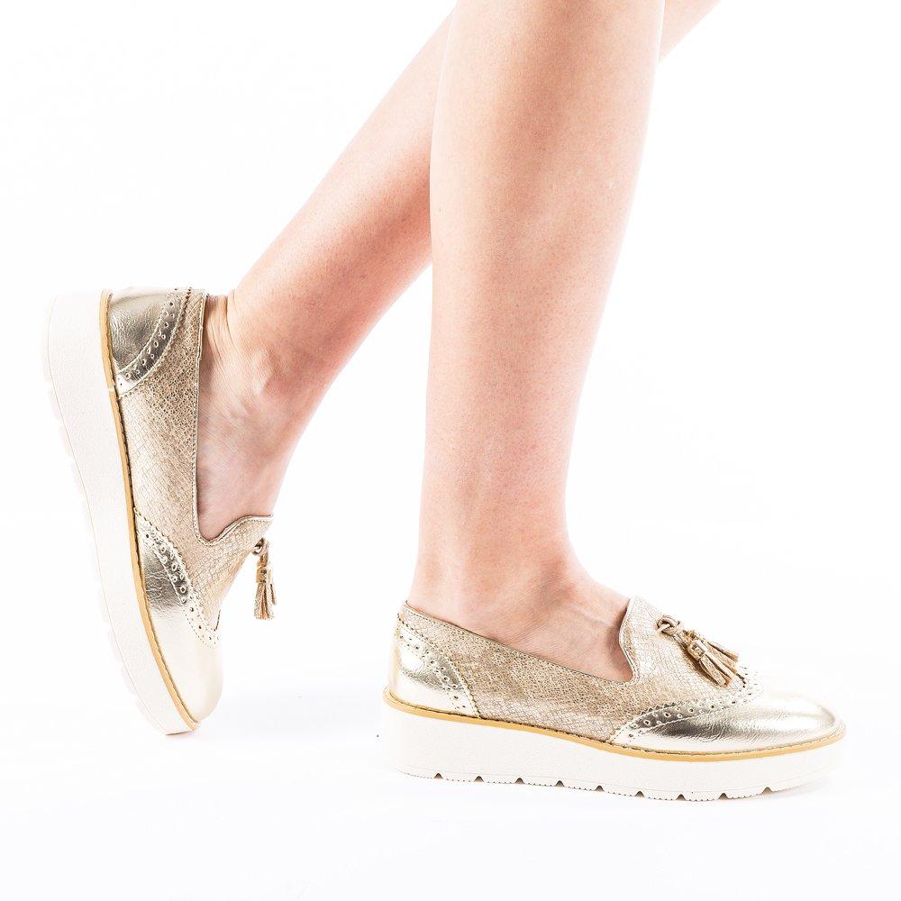 Pantofi dama Griselda aurii