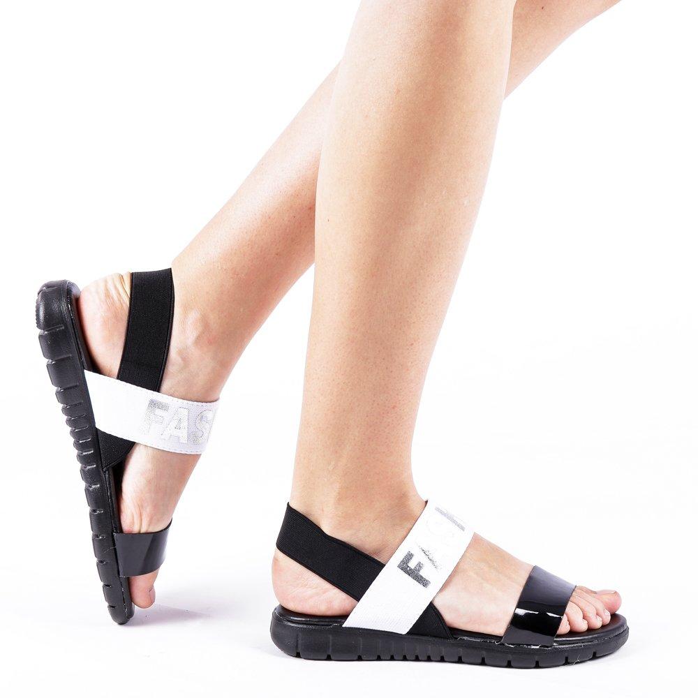 Sandale dama Fannie negre