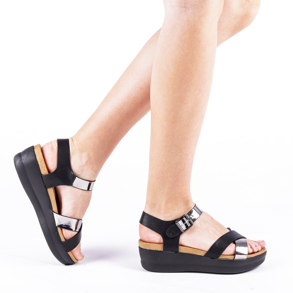 Sandale Dama Ybarra Negre