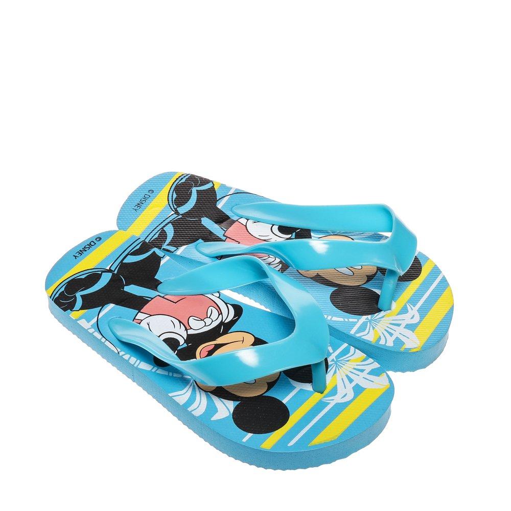 Papuci copii Disney albastru deschis