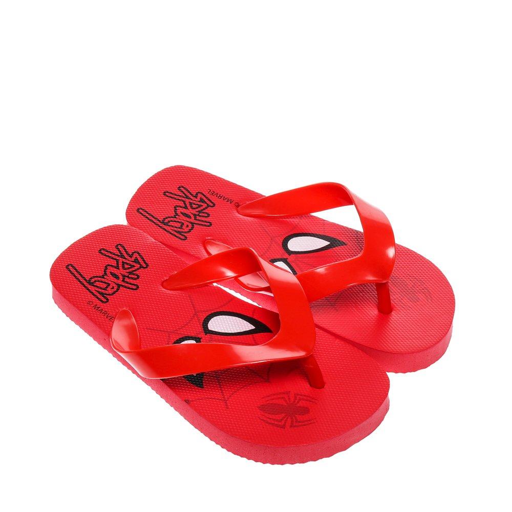 Papuci copii Spider-Man rosii
