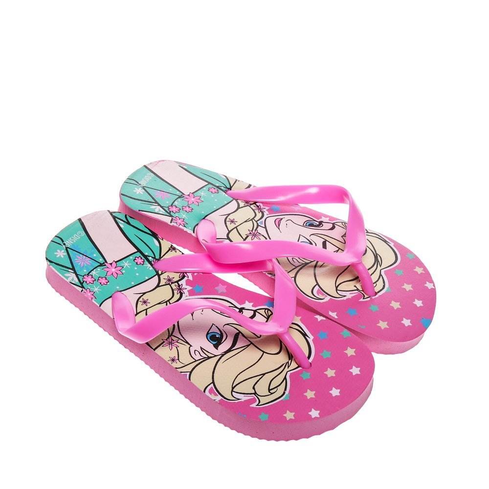 Papuci copii Frozen roz