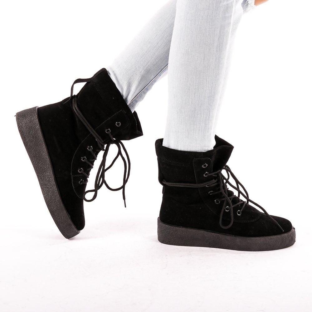 Sneakers dama Zoie negri