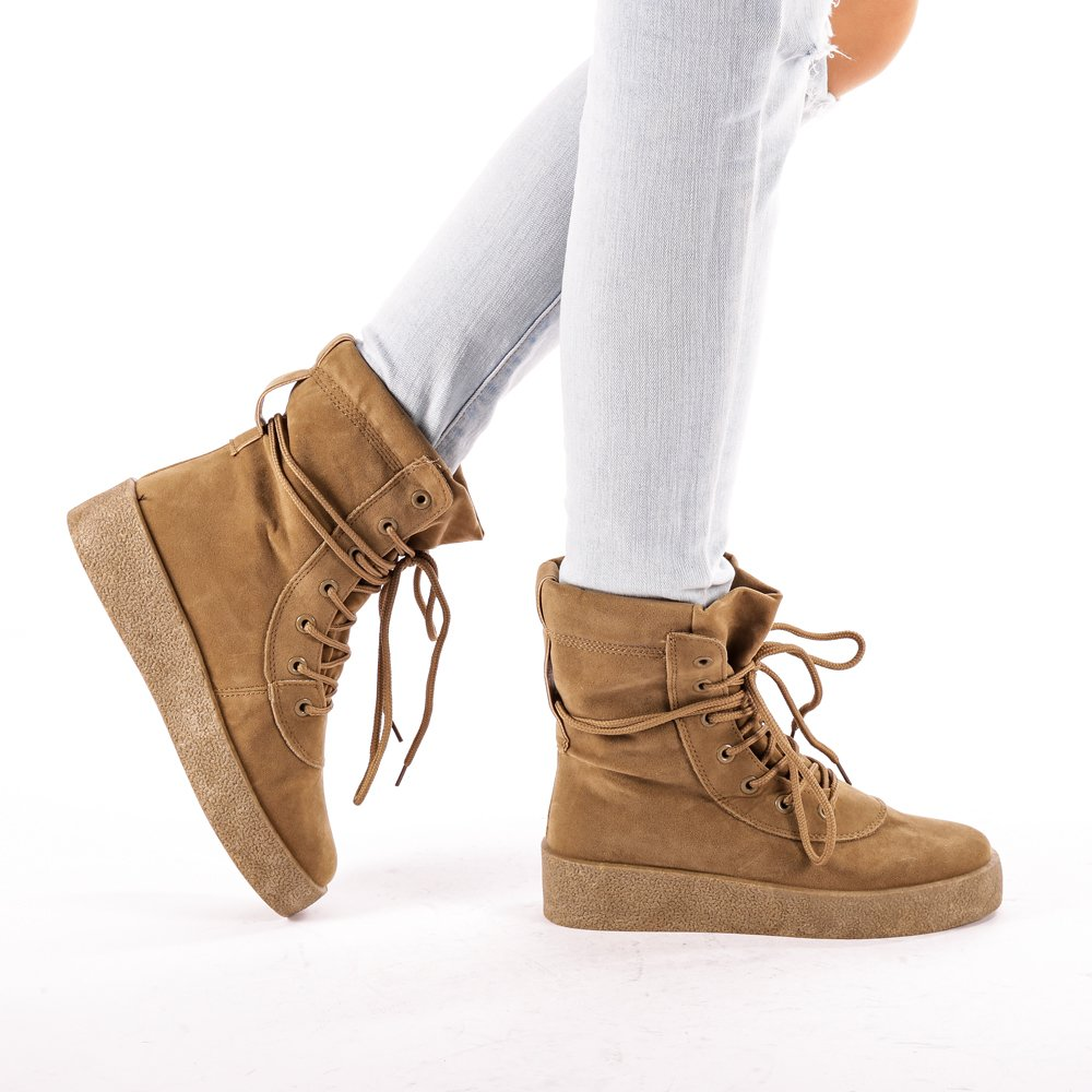 Sneakers dama Zoie khaki