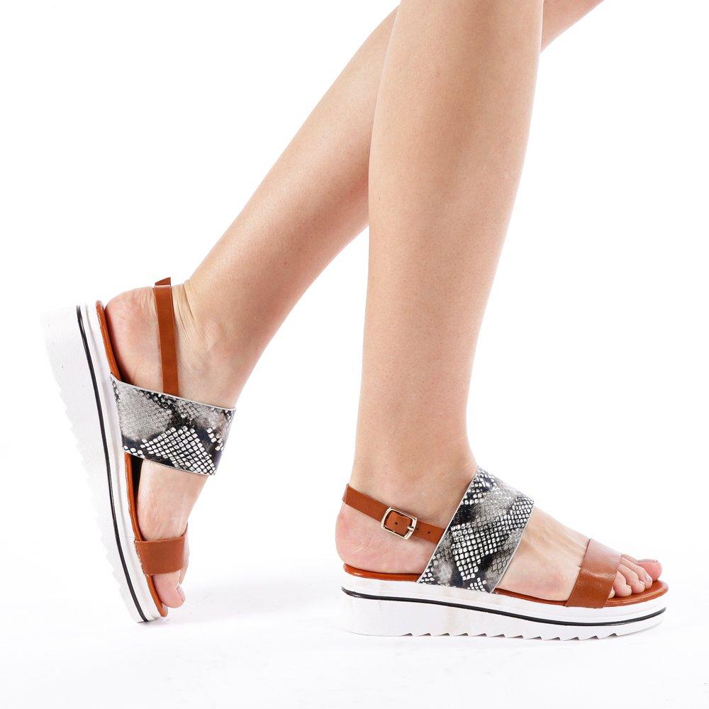 Sandale Dama Placida Negre