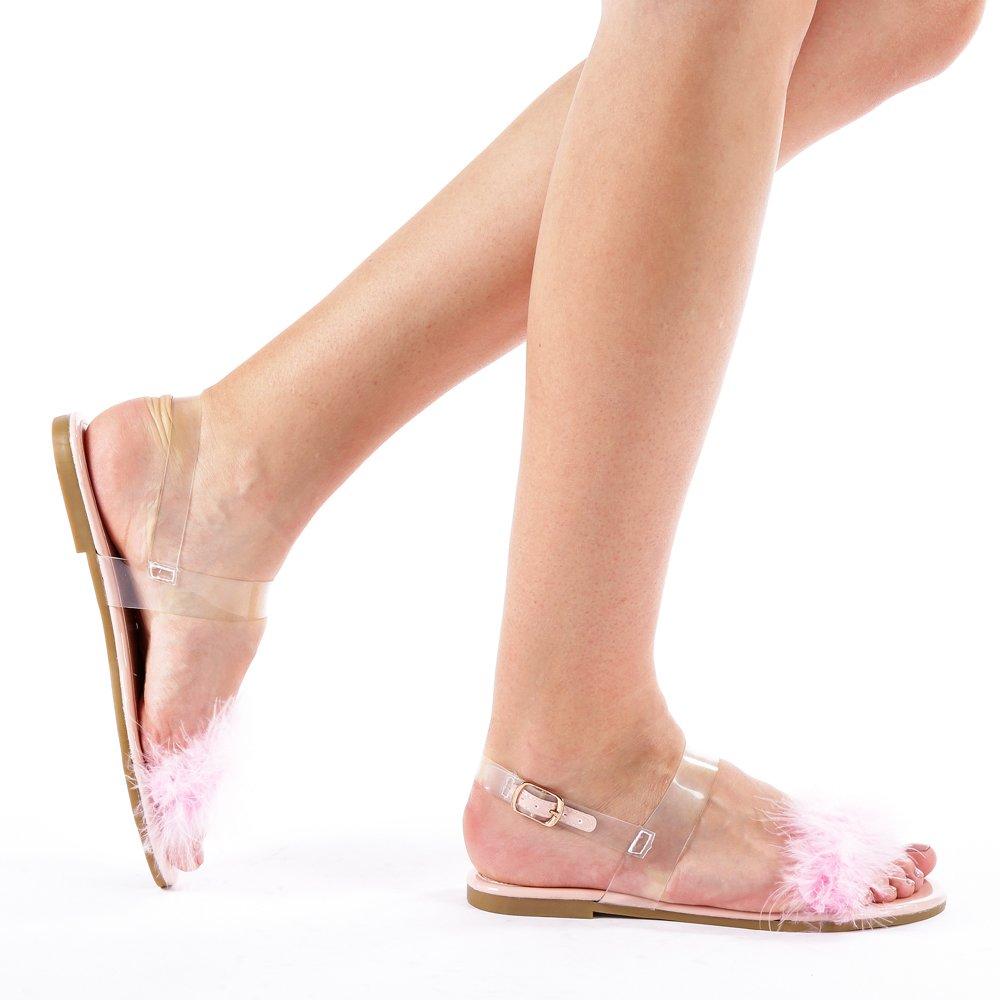 Sandale dama Mara roz