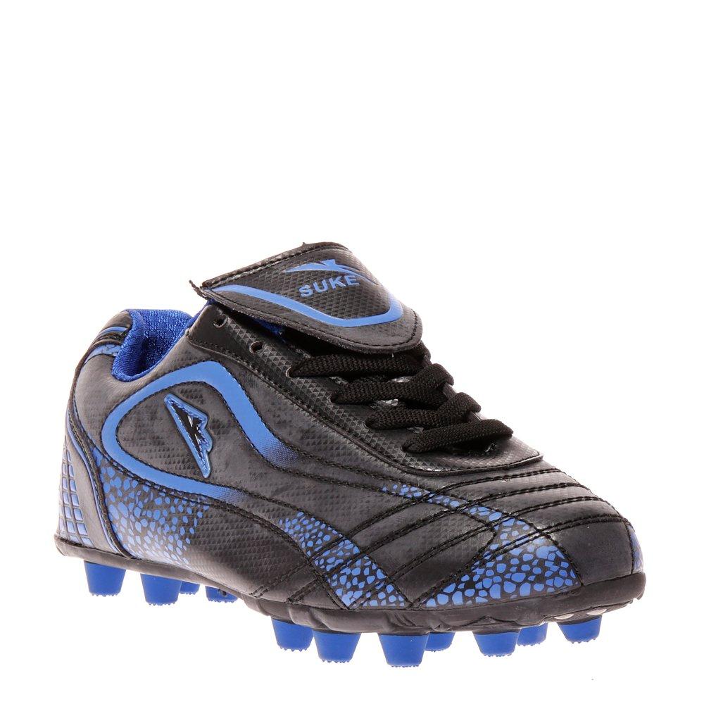 Ghete fotbal copii Gilbert 4 negru cu albastru